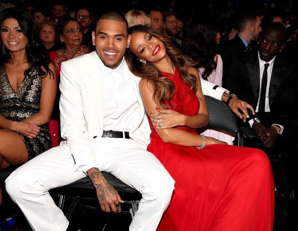 Ihre Beziehung war mehr als nur kompliziert: Chris Brown und Rihanna im Jahr 2003.