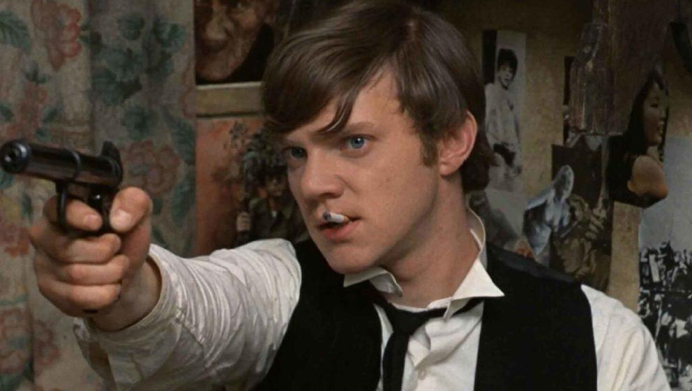 "Malcolm McDowell in einer Szene aus ""If…"""