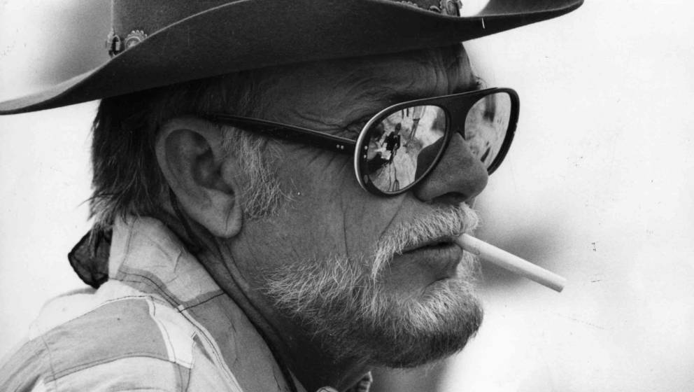 American film director Sam Peckinpah (1925 - 1985).  Original Publication: People Disc - HN0279   (Photo by Hulton Archive/Ge