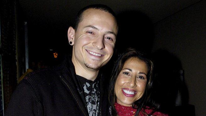 Archiv-Foto von Chester und Samantha Bennington aus dem Jahr 2004