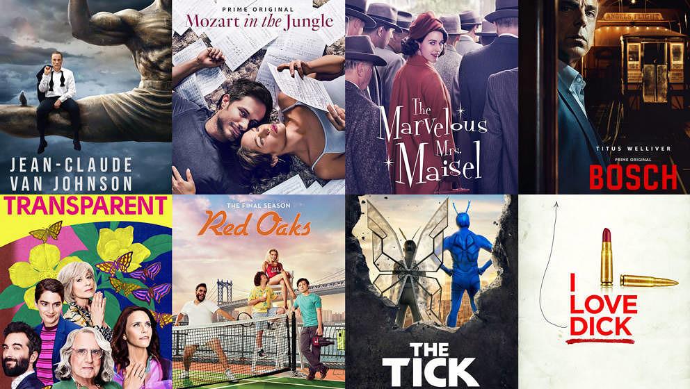 Übersicht über die besten Amazon-Serien