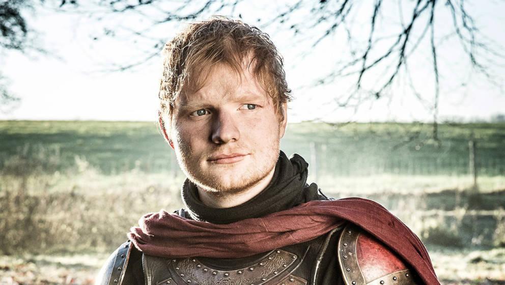 "Ed Sheeran in seiner Rolle als Lannister-Soldat in ""Game Of Thrones"""