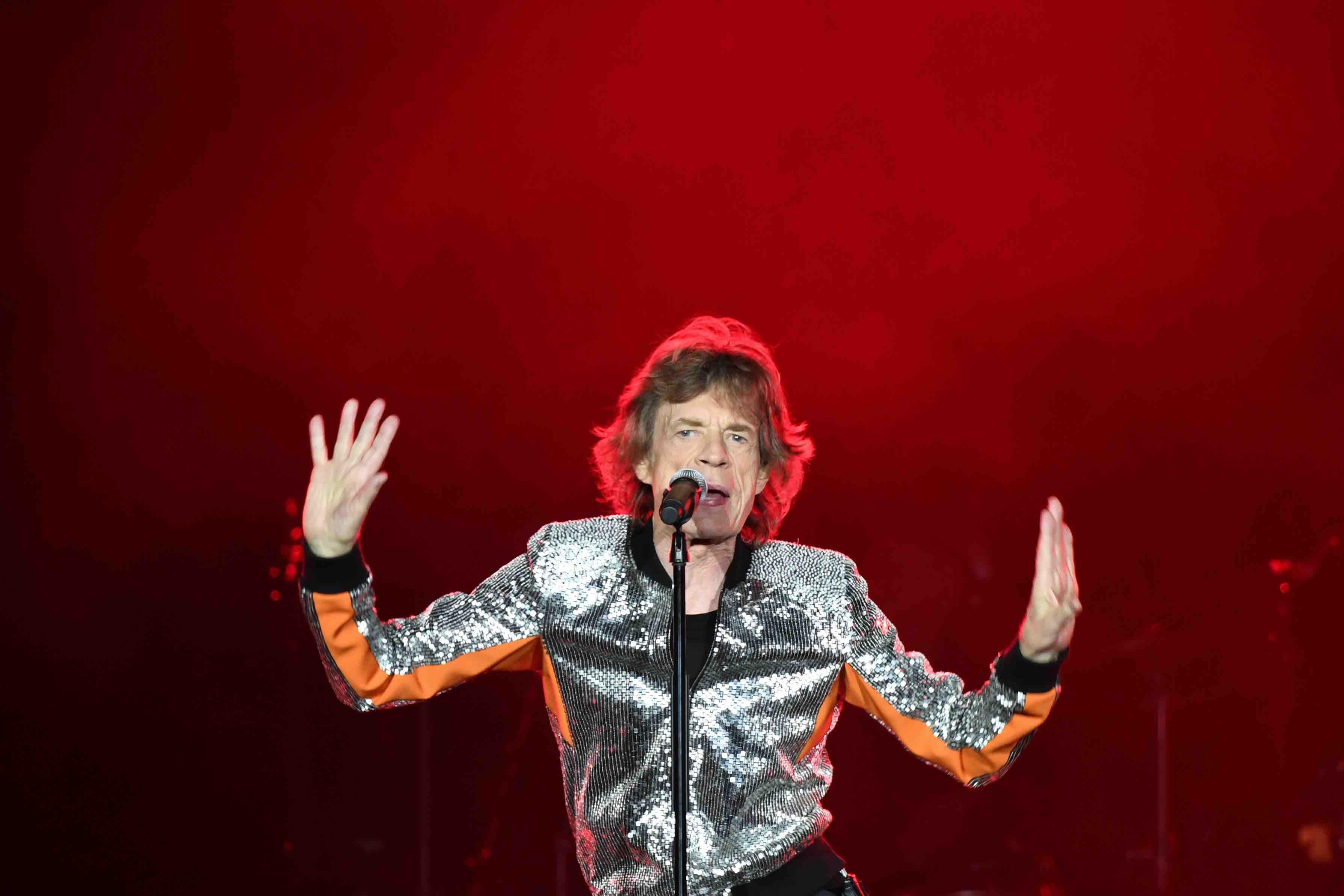 Rolling Stones Mick Jagger Vergnügte Sich In Berliner Fetisch Club