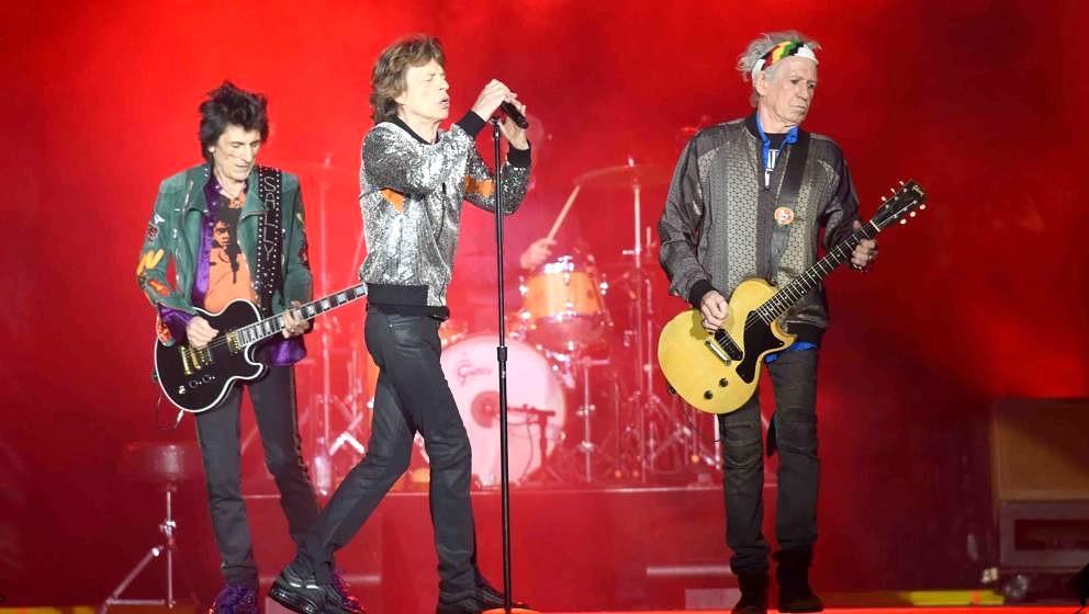Die Rolling Stones live in Hamburg 2017