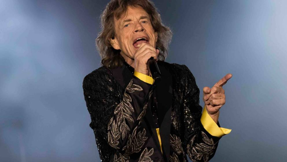 Mick Jagger live mit den Rolling Stones