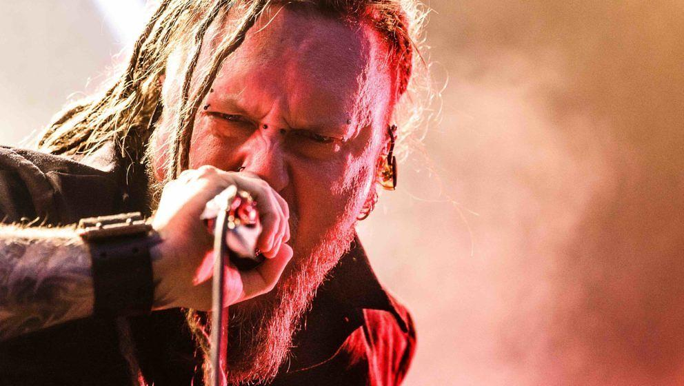 The Polish death metal band Decapitated performs a live concert at the Danish heavy metal festival Copenhell 2016 in Copenhag