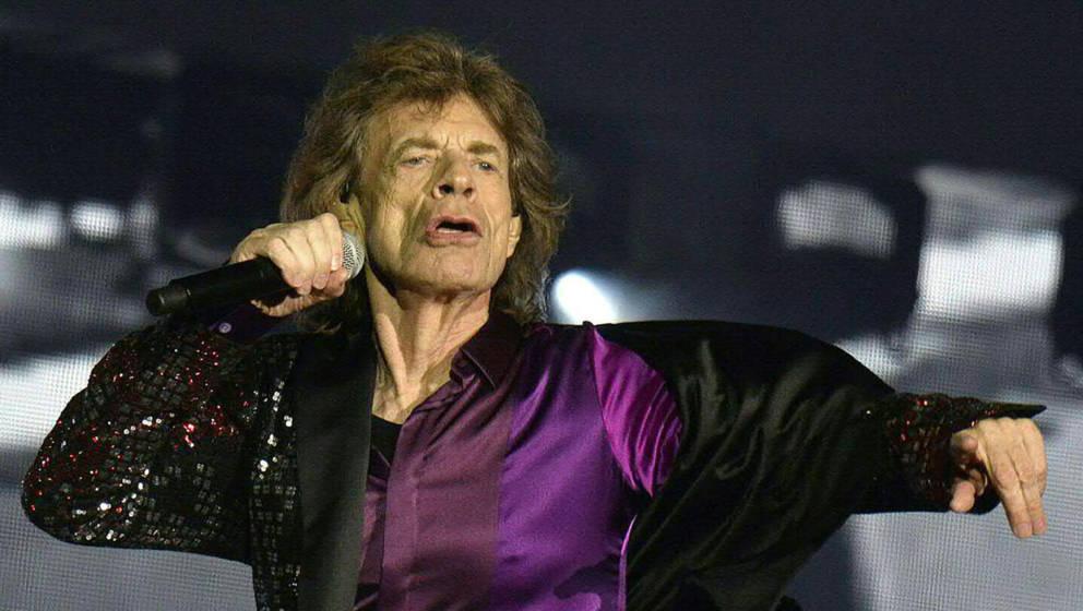 Mick Jagger gibt auch in Spielberg alles