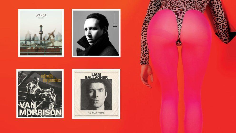 Neue Alben von Liam Gallagher, Wanda, St. Vincent, Marilyn Manson und Van Morrison