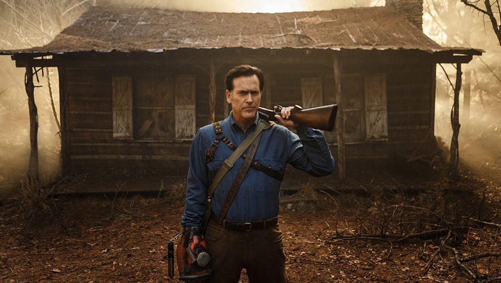 """Hail to the King, Baby!"" - Bruce Campbell kehrt als Ash in ""Ash vs. Evil Dead"" zurück"