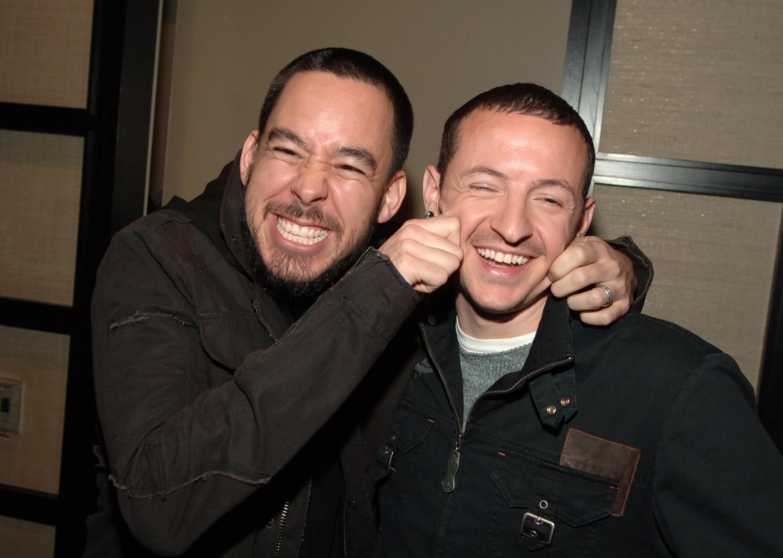 Mike Shinoda und Chester Bennington hatten oft Spaß miteinander