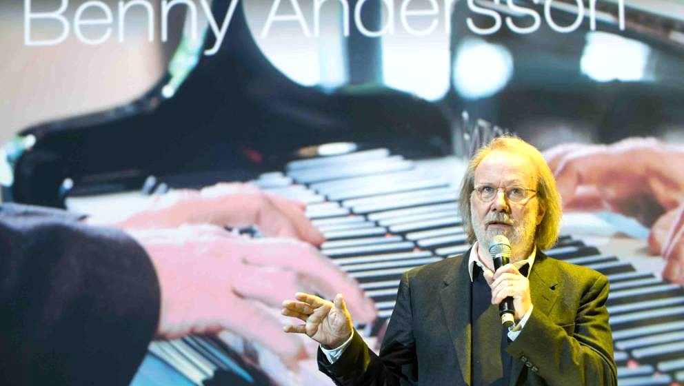 BERLIN, GERMANY - SEPTEMBER 06: Benny Andersson live on stage during Universal Inside 2017 organized by Universal Music Group