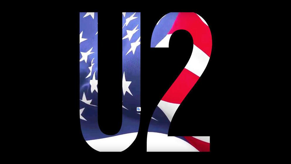 U2 werden in ihrem neuen Musikvideo ganz patriotisch