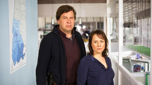 "Neues ""Tatort""-Team: Friedemann Berg (Hans-Jochen Wagner) und Franziska Tobler (Eva Löbau)"