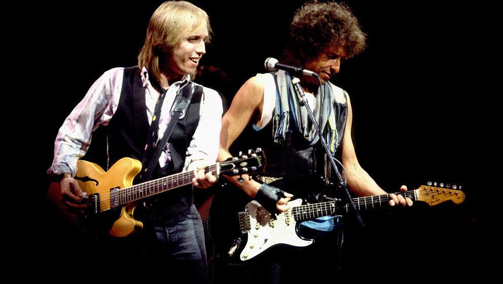 Tom Petty und Bob Dylan gemeinsam auf Tour (1986)