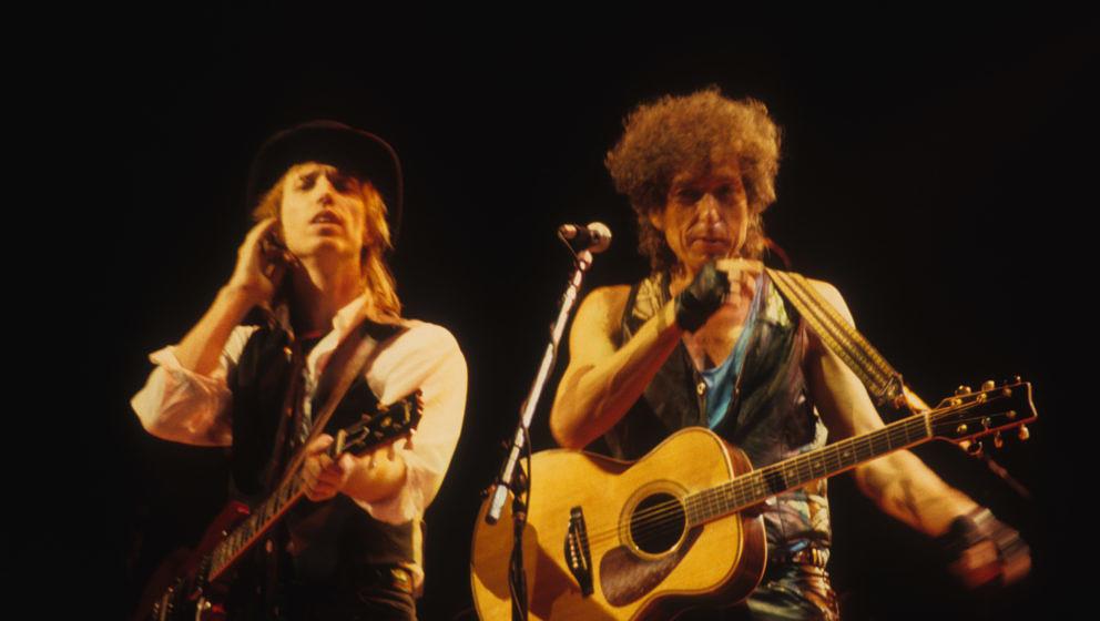 Bob Dylan und Tom Petty (live 1986)