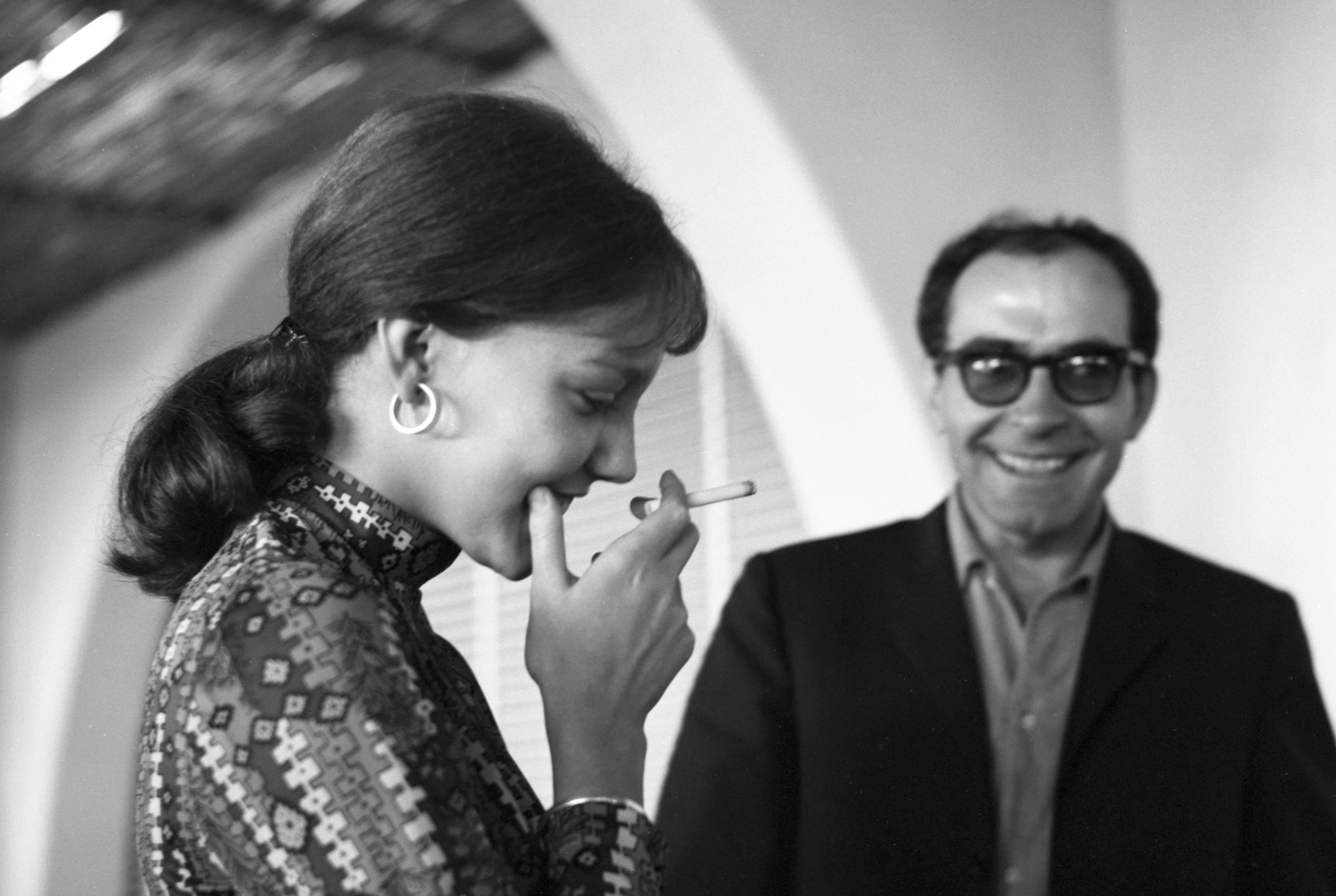 Jean-Luc Godard und Anne Wiazemsky