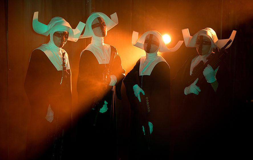 """Gefährliche Nonnen: Szene aus """"Officer Downe"""""""