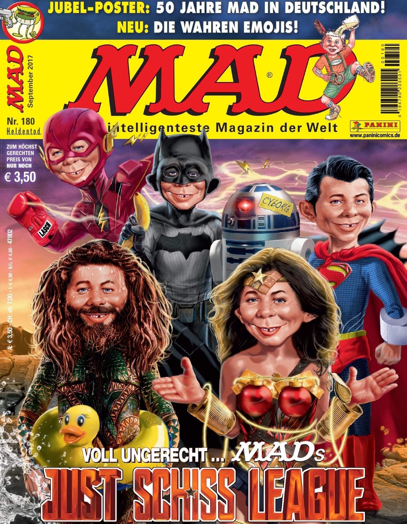 """Die aktuelle """"MAD""""-Ausgabe 180"""