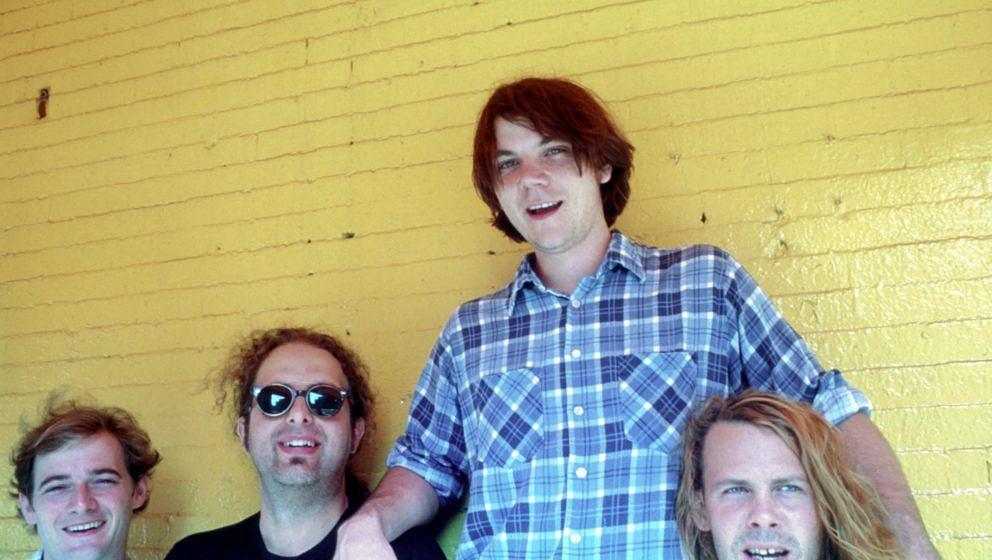 Wilco im Jahr 1996: John Stirratt, Ken Coomer, Jeff Tweedy und Jay Bennett