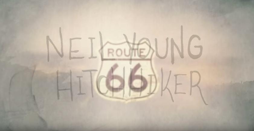 """Szene aus dem Clip zu """"Hitchhiker"""" von Neil Young"""