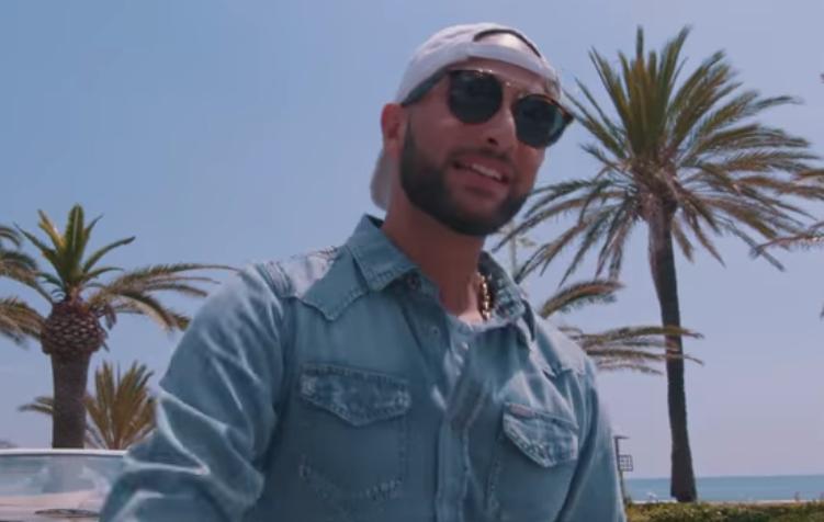 """Rapper Nimo im Clip zu seinem Song """"Heute mit mir"""""""