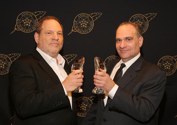 Harvey Weinstein (l.) mit seinem Bruder Bob (r.) im Jahr 2015.