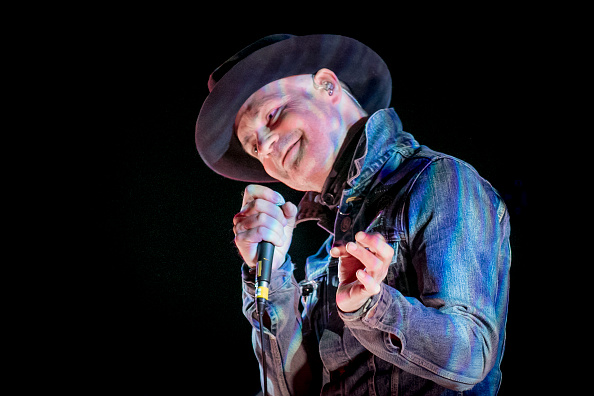OTTAWA, ON - OCTOBER 18:  Gord Downie performs his 'Secret Path' album live at the National Arts Centre on October 18, 2016 i