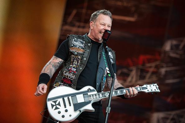 James Hetfield spilete mit seiner Band Metallica bei der ersten Auflage von Rockavaria im Jahr 2015 –damals noch im Olympiapark.