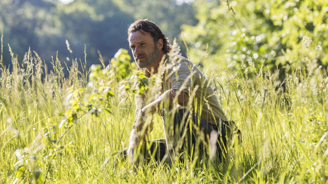 "Rick in ""The Walking Dead"""