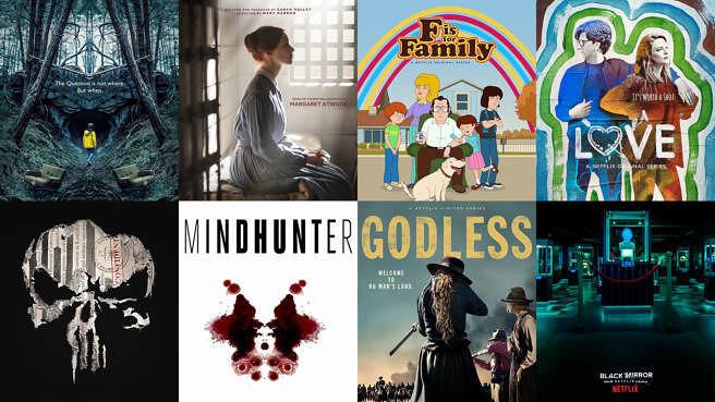 Übersicht über die besten Netflix-Serien aller Zeiten