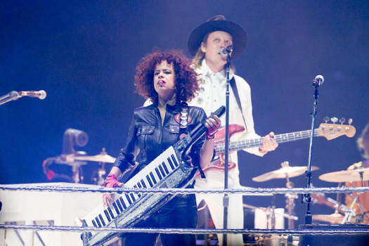 Nur wenige wollen Régine Chassagne und Win Butler von Arcade Fire singen sehen.