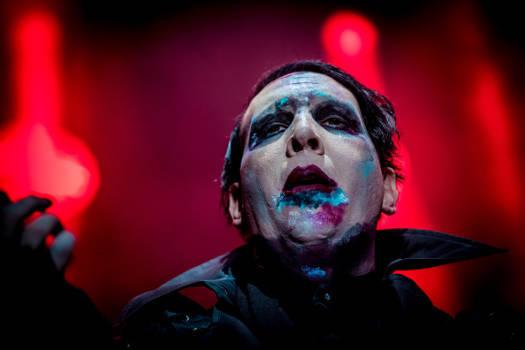 Marilyn Manson steht auf provokative Auftritte.