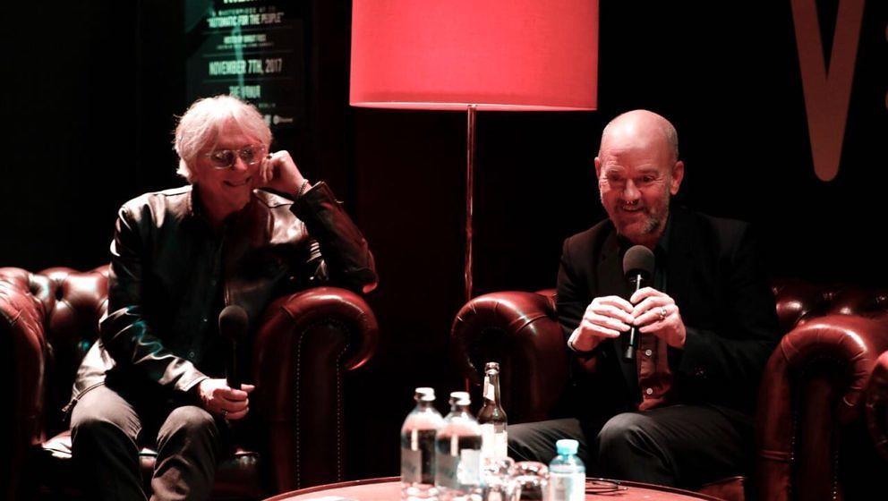 Mike Mills und Michael Stipe