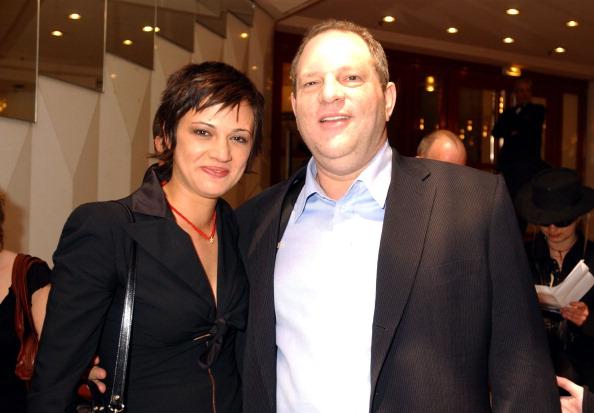 Asia Argento und Harvey Weinstein im Jahr auf dem Filmfestival in Cannes.
