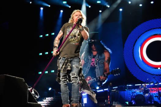 Guns N' Roses live 2017