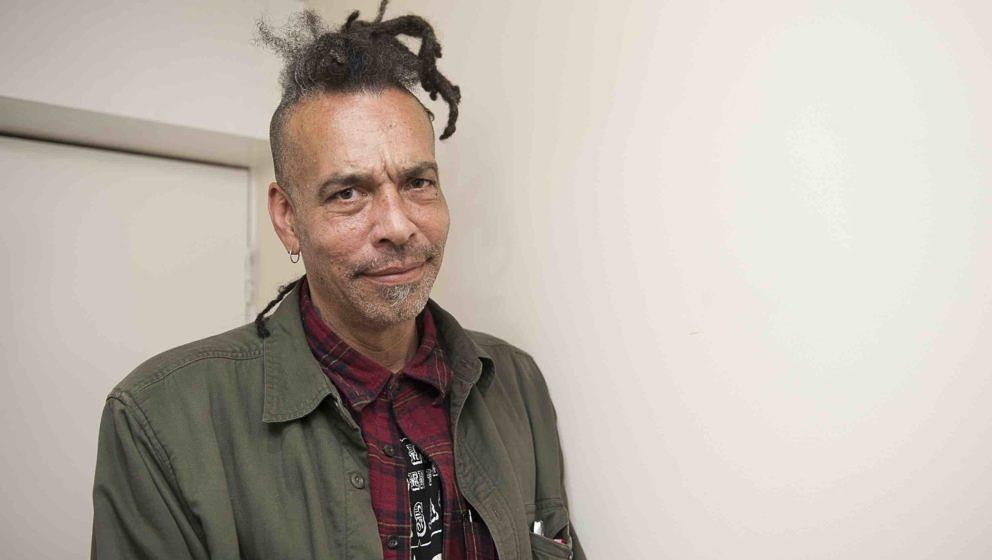 LONDON, ENGLAND - OCTOBER 10:  Chuck Mosley poses for portrait backstage at Boston Music Room on October 10, 2016 in London,