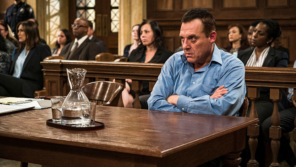 LAW & ORDER: SPECIAL VICTIMS UNIT -- 'Depravity Standard' Episode 17009 -- Pictured: Tom Sizemore as Lewis Hodda -- (Phot