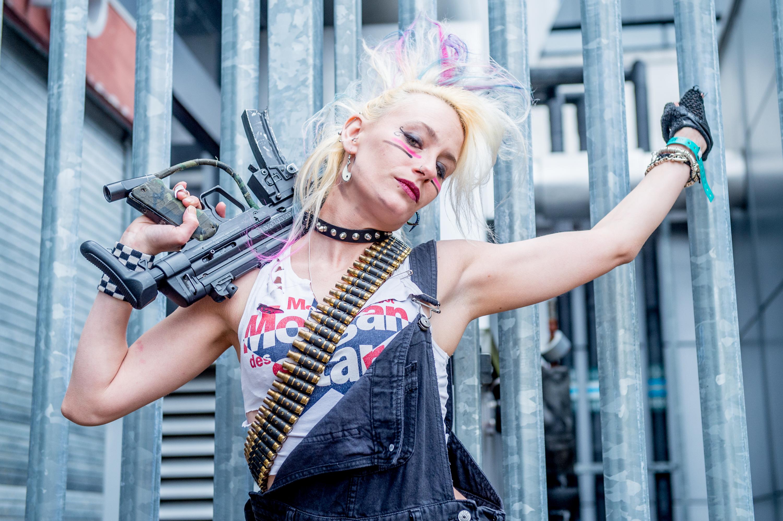 """""""Tank Girl"""": Feministischer Comic mit vielen vor allem auch weiblichen Fans -  und auf jeder Comic Con anzutreffen"""