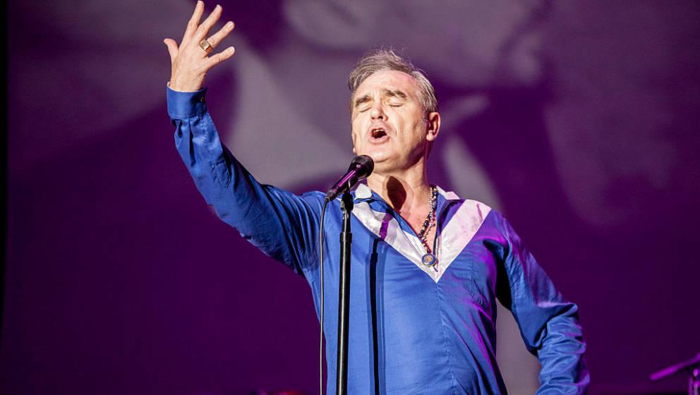 Morrissey schwingt gerne Reden, um seine äußerst kontroverse Meinung an den Mann zu bringen.