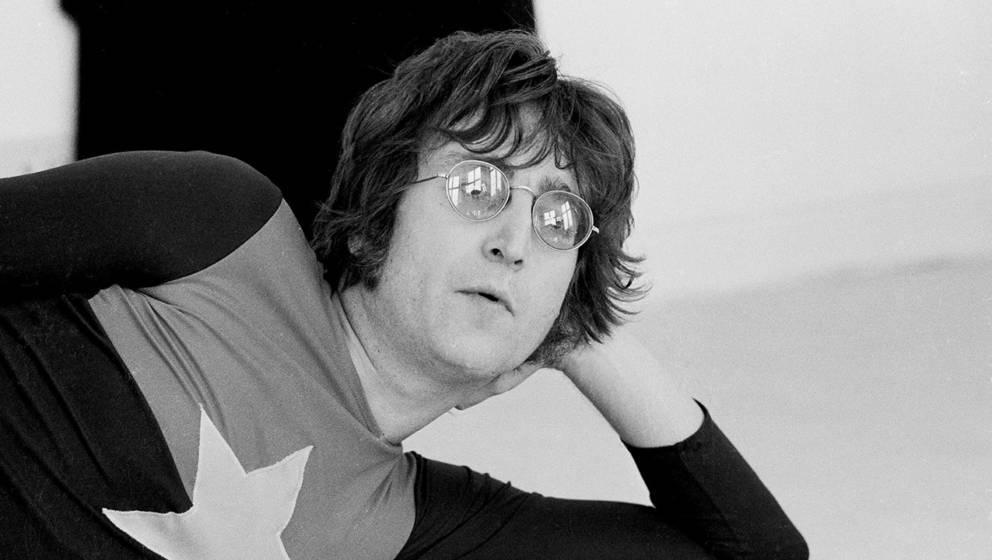John Lennon im Jahr 1971: Seine Brille ist ikonisch