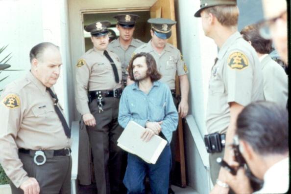 Charles Manson im Jahr 1970