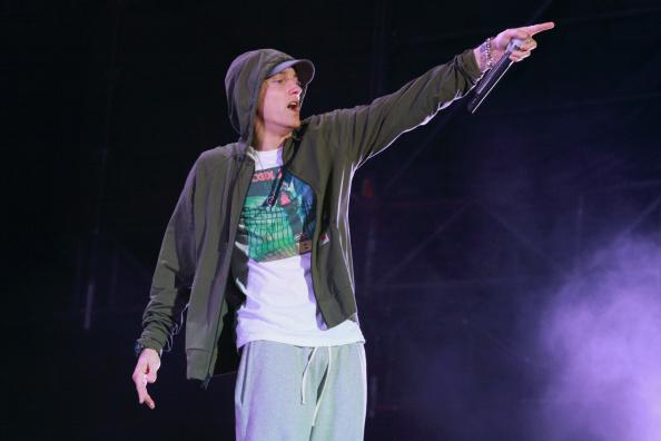 Alles deutet auf ein Pop-Album von Eminem hin.