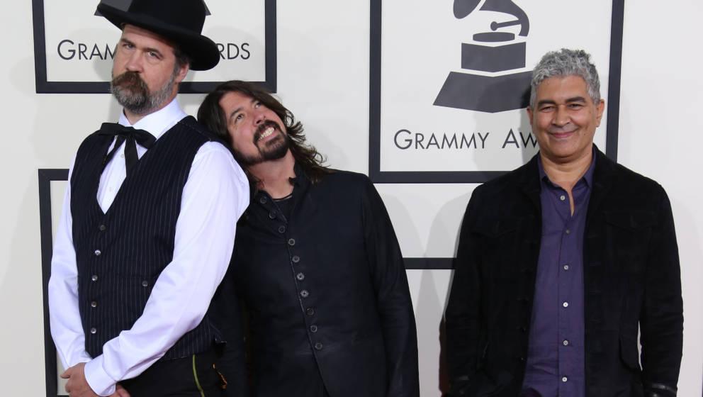 Krist Novoselic, Dave Grohl und Pat Smear