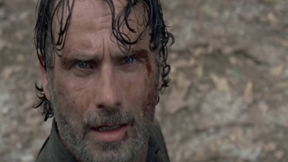 Rick Grimes ist erschrocken…