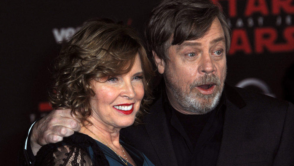 Mark Hamill und seine Frau Marilou Hamill