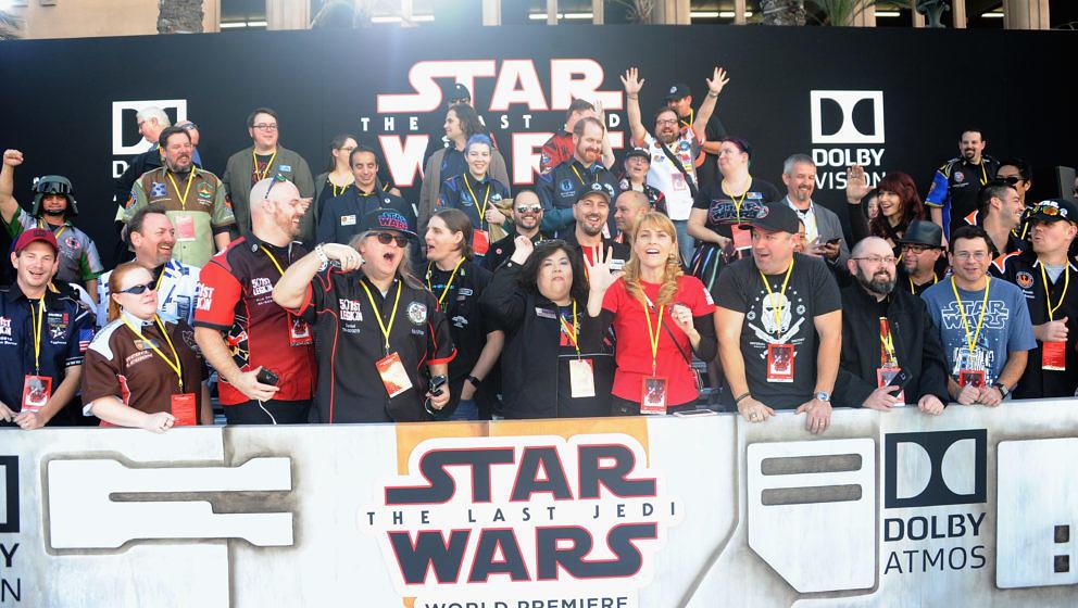 Mitglieder der 501st Legion