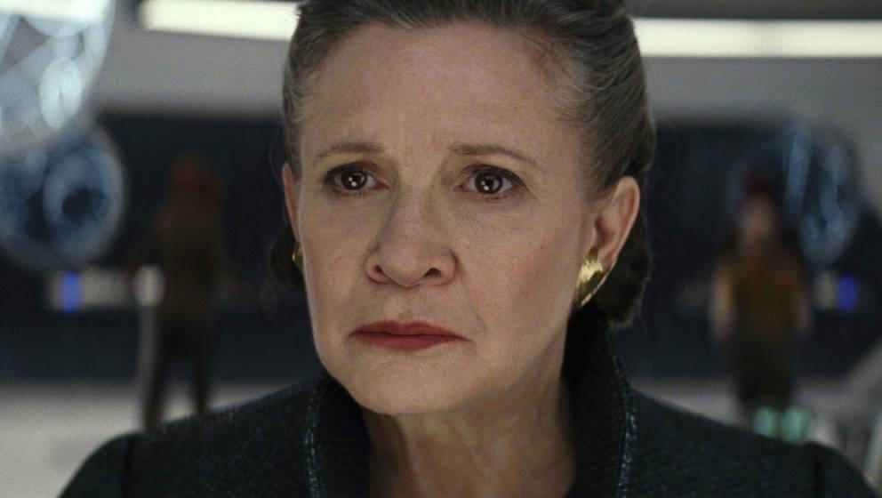 """Carrie Fisher in """"Star Wars: Die letzten Jedi"""""""