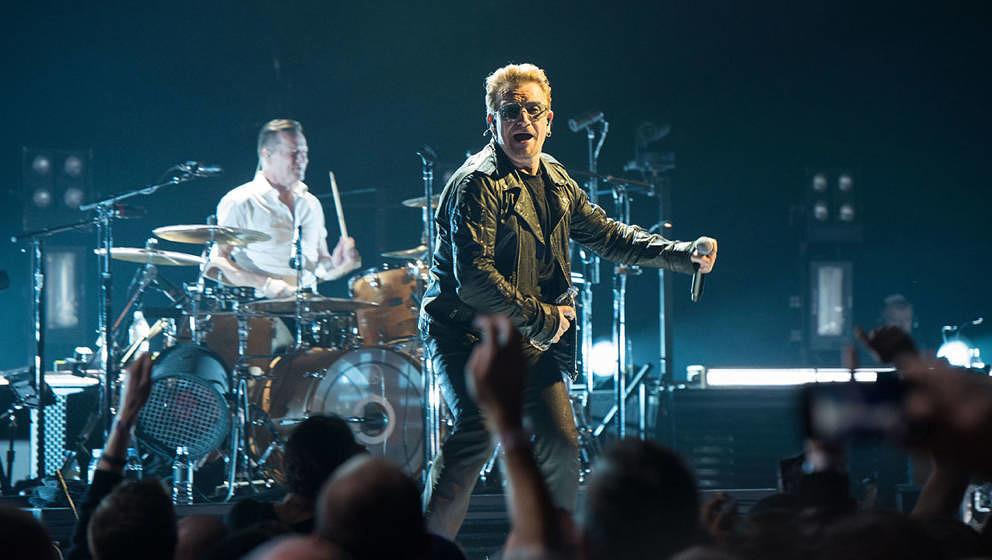 U2 (nicht vom Tourstart, sondern aus Belfast 2017)