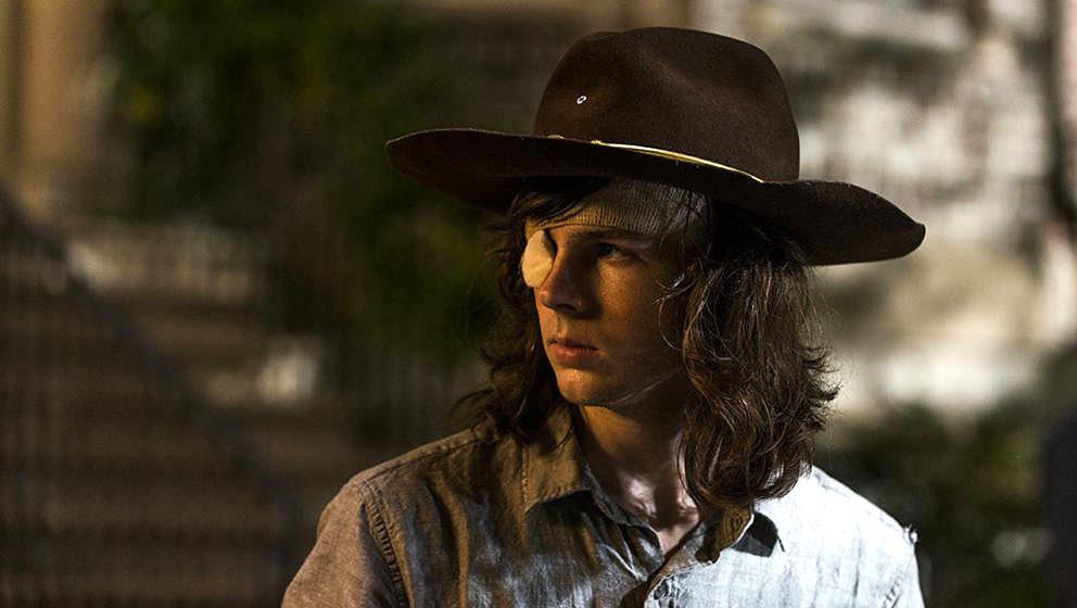 """Auch Carl konnte das Midseason-Finale der achten Staffel """"The Walking Dead"""" nicht mehr retten"""