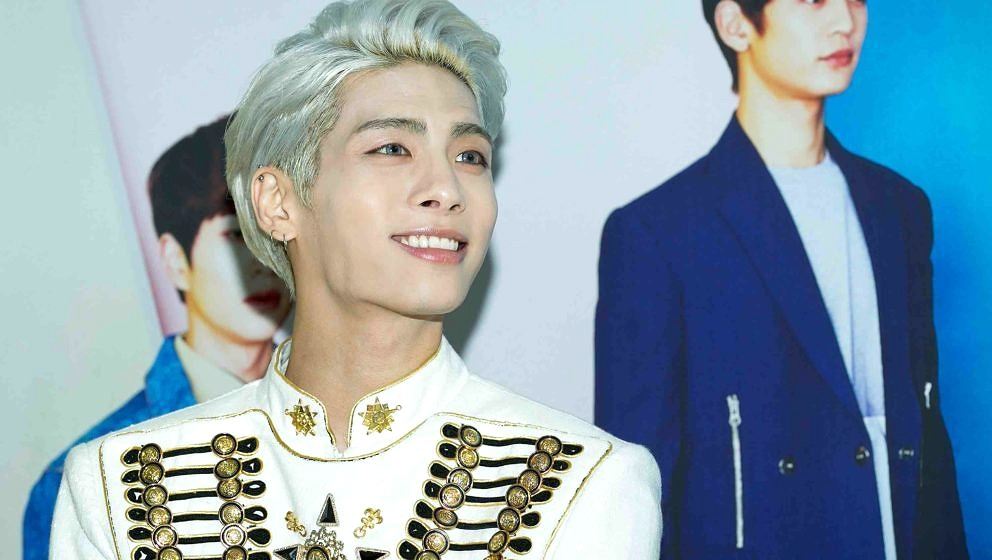 SEOUL, SOUTH KOREA - MAY 17:  Jonghyun of South Korean boy band SHINee attends the 'SHINee World IV' press conference on May